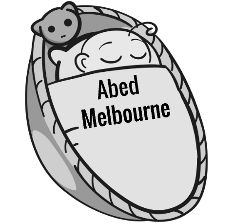 Abed Melbourne sleeping baby
