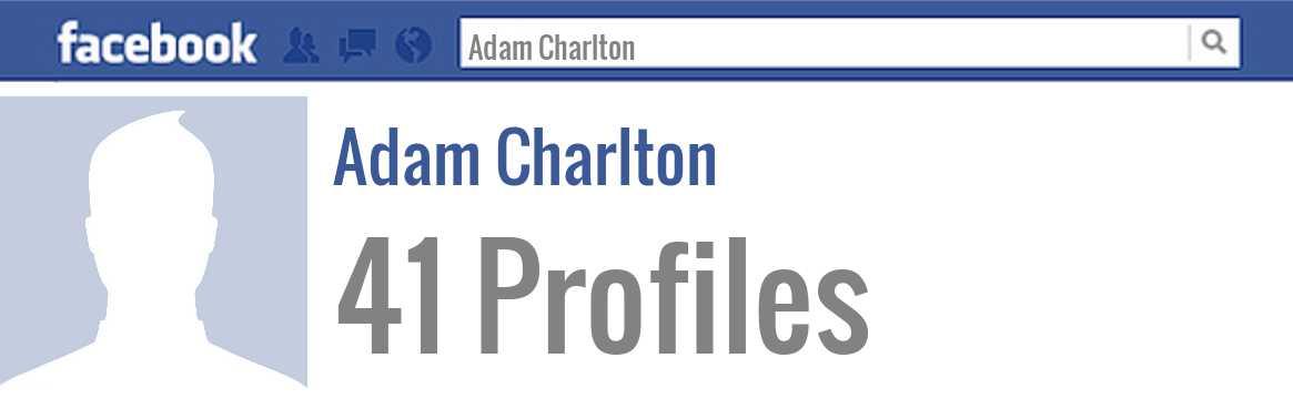 Adam Charlton Facebook Adam Charlton: ...