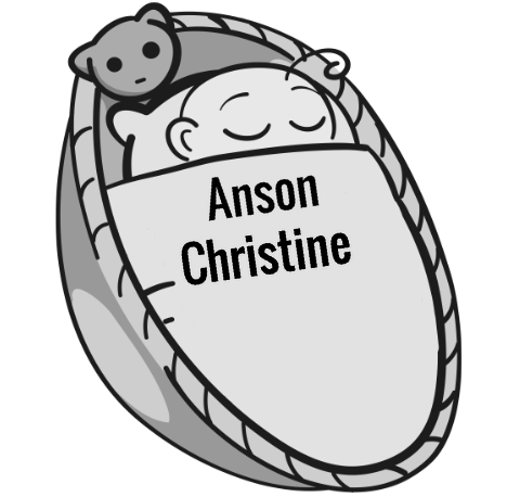 Anson Christine sleeping baby