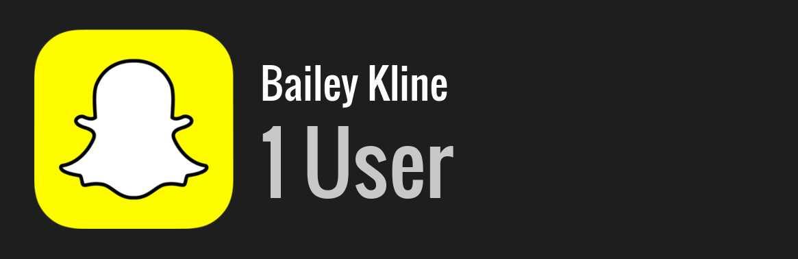 Kline bailey Bailey Kline
