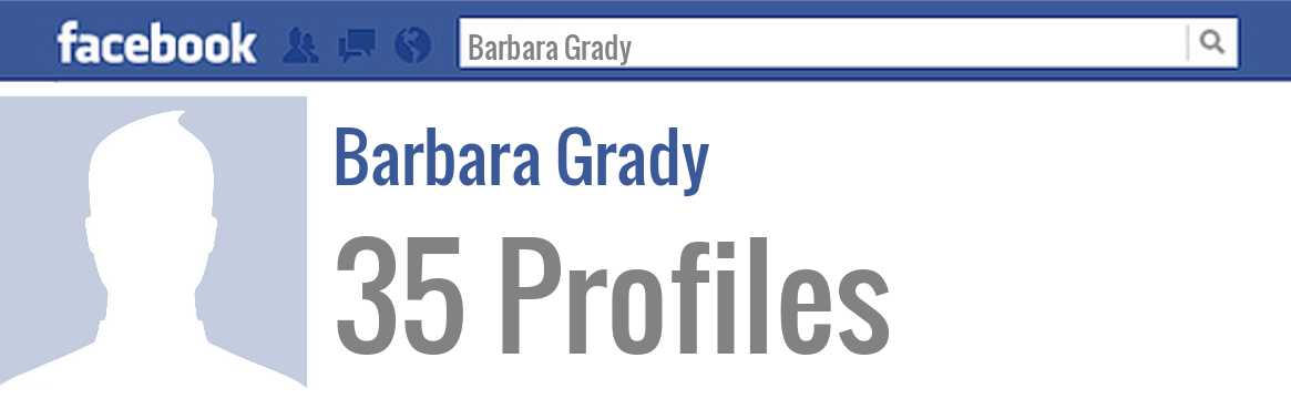 Barbara Grady facebook profiles