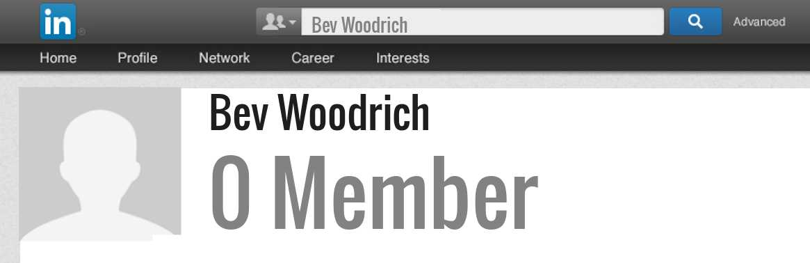 Bev Woodrich linkedin profile
