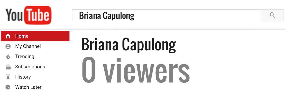 Briana Capulong youtube subscribers