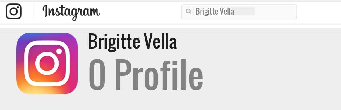 Brigitte Vella instagram account