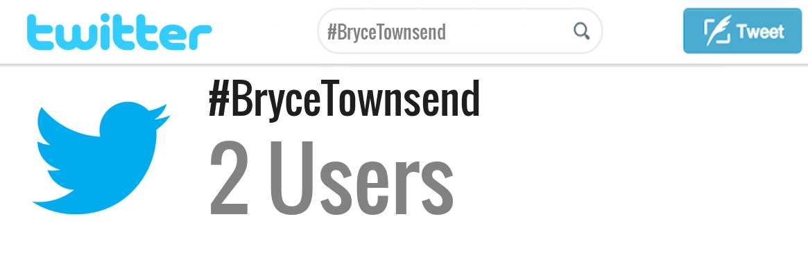 Bryce Townsend twitter account