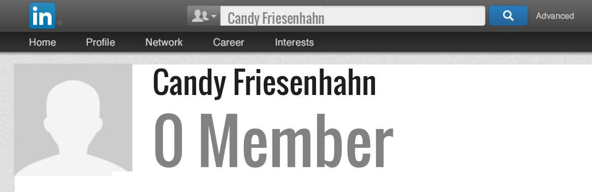 Candy Friesenhahn linkedin profile