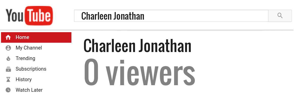 Charleen Jonathan youtube subscribers