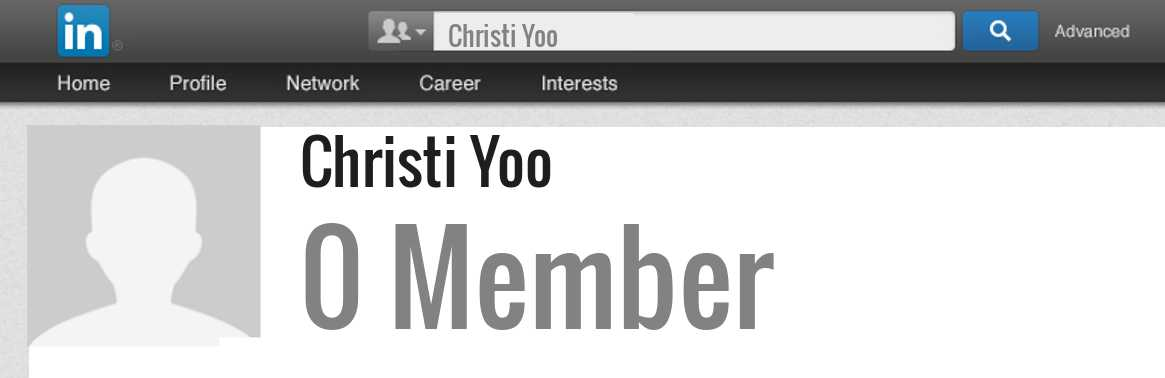 Christi Yoo linkedin profile