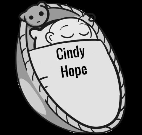 Hope cindy Cindy Hope