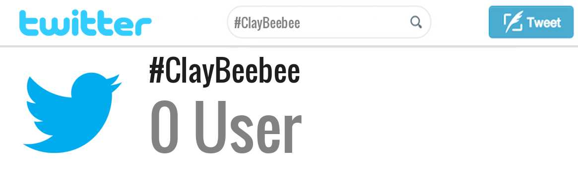 Clay Beebee twitter account