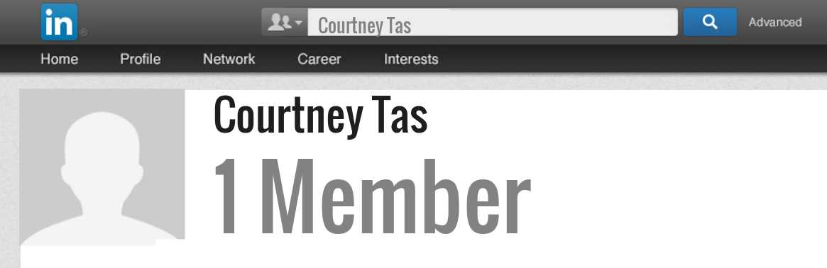 Courtney Tas linkedin profile