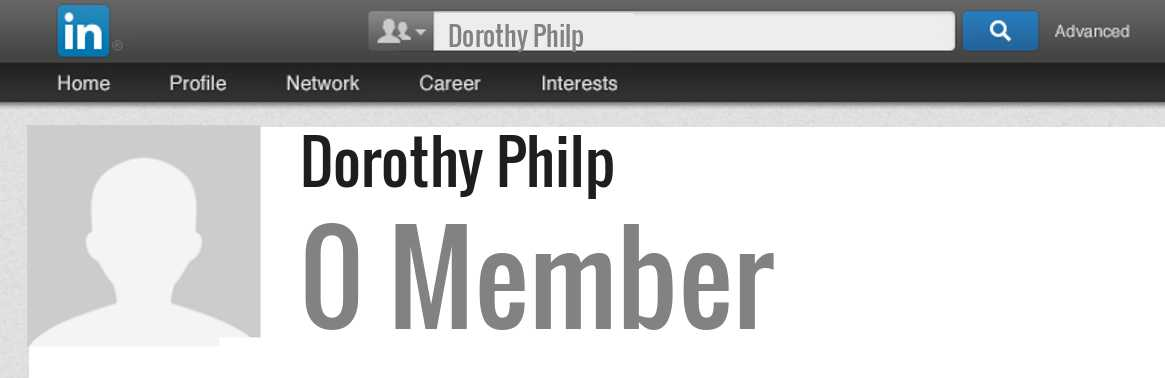 Dorothy Philp linkedin profile