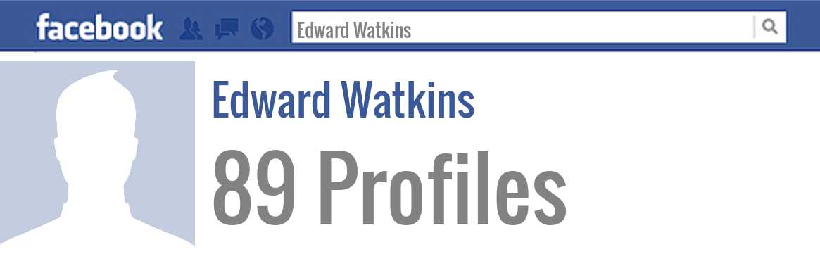 Edward Watkins facebook profiles