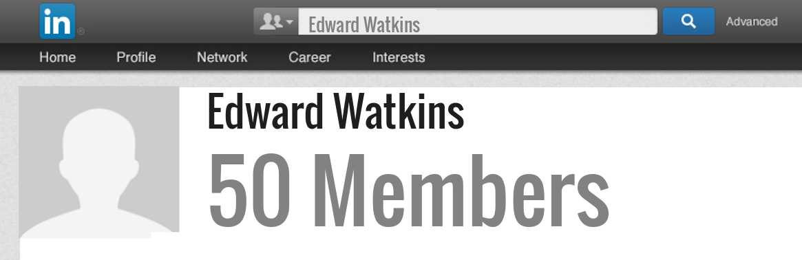Edward Watkins linkedin profile