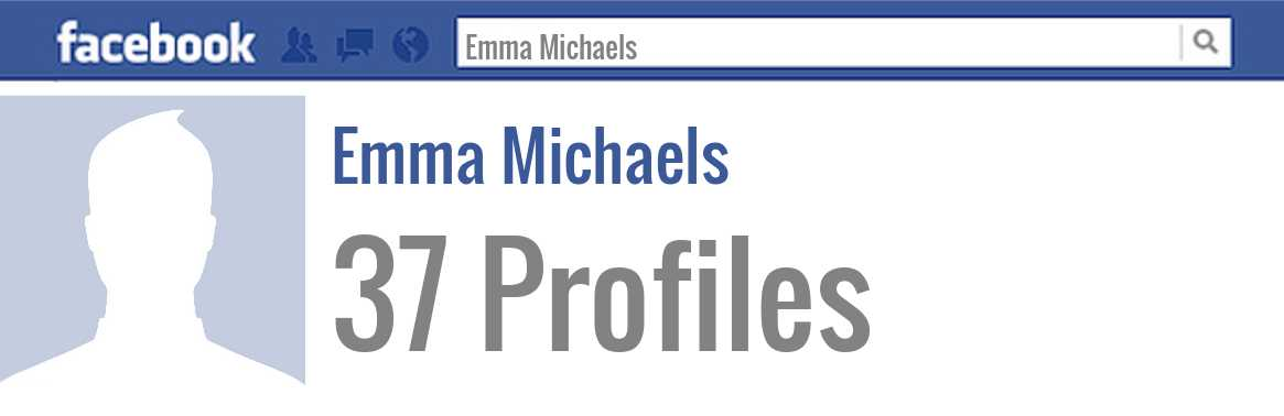 Emma Michaels facebook profiles