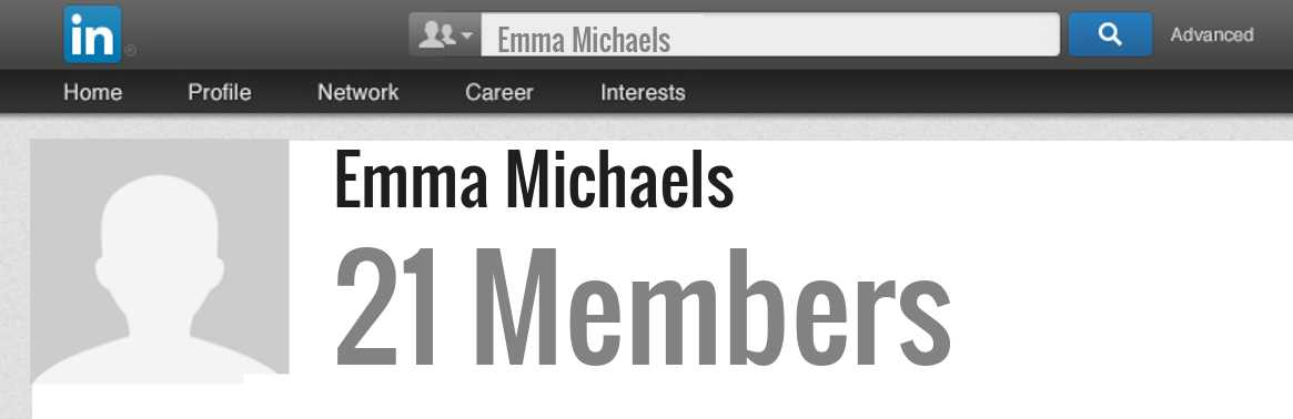 Emma Michaels linkedin profile