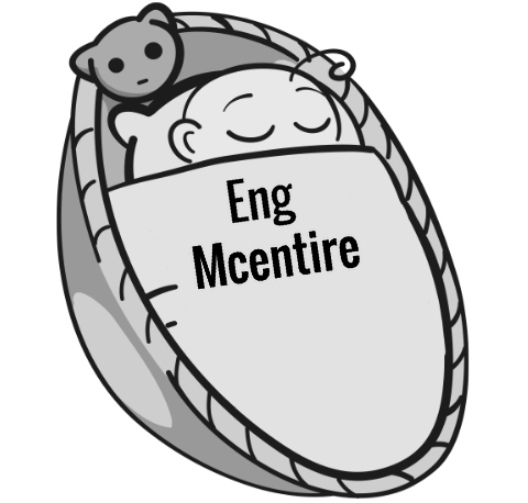 Eng Mcentire sleeping baby