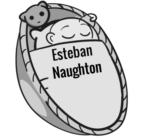 Esteban Naughton sleeping baby