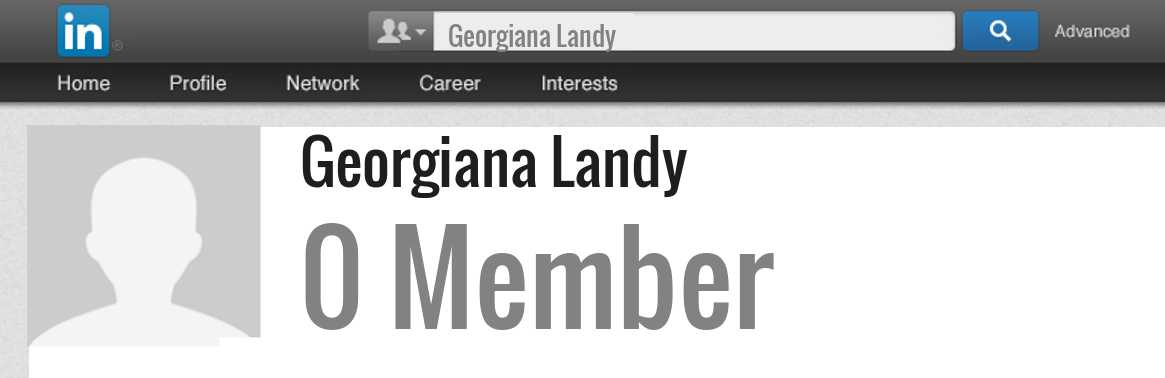 Georgiana Landy linkedin profile