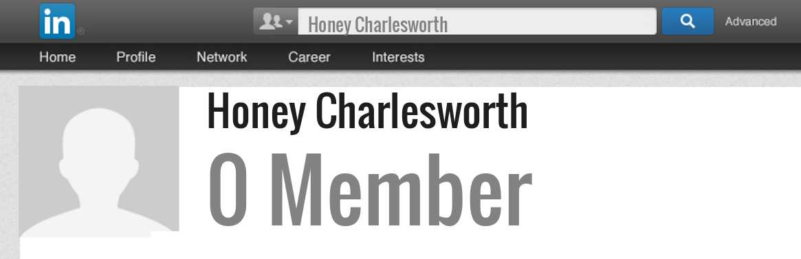 Honey Charlesworth linkedin profile