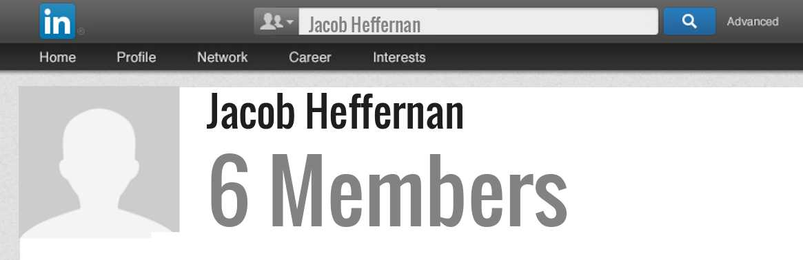 Jacob Heffernan linkedin profile