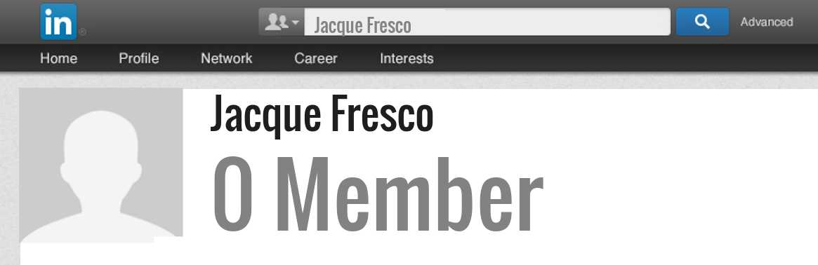 Jacque Fresco linkedin profile