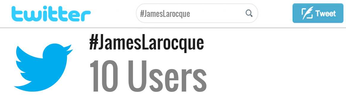 James Larocque twitter account