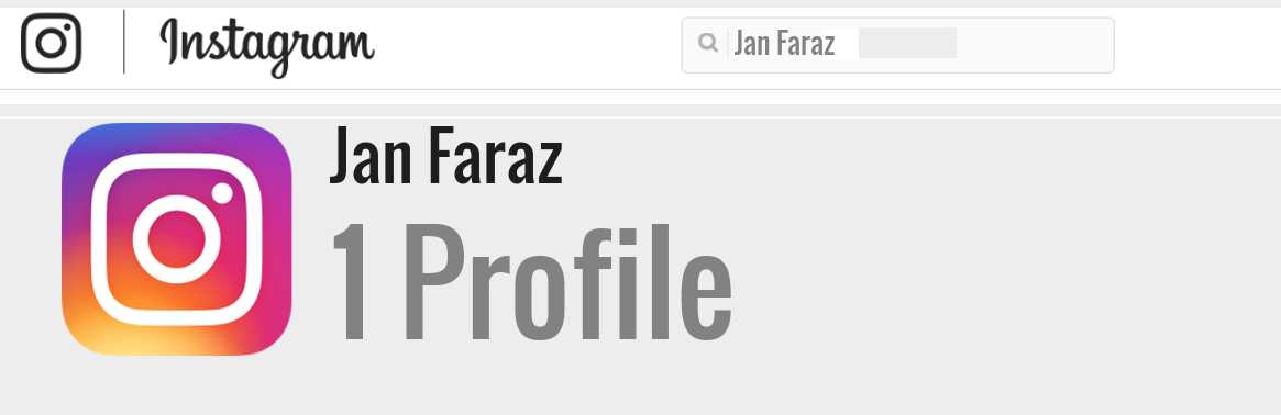 Jan Faraz instagram account
