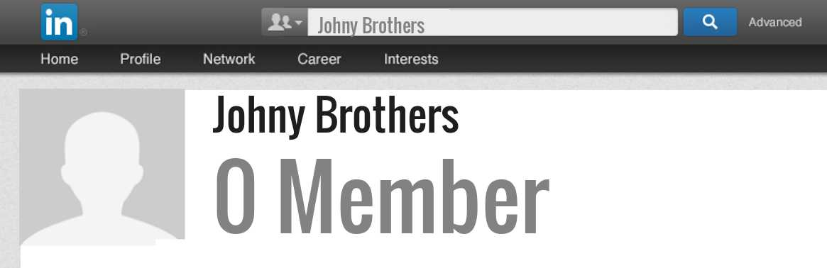 Johny Brothers linkedin profile