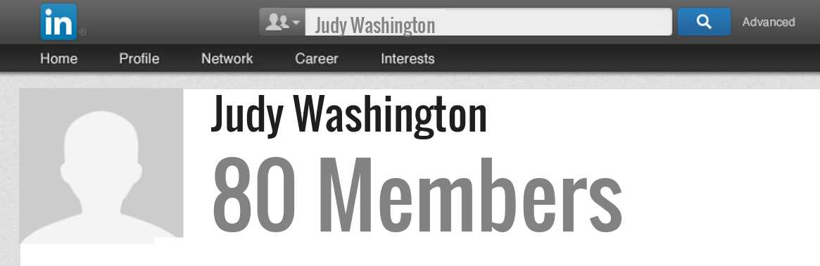 Judy Washington linkedin profile