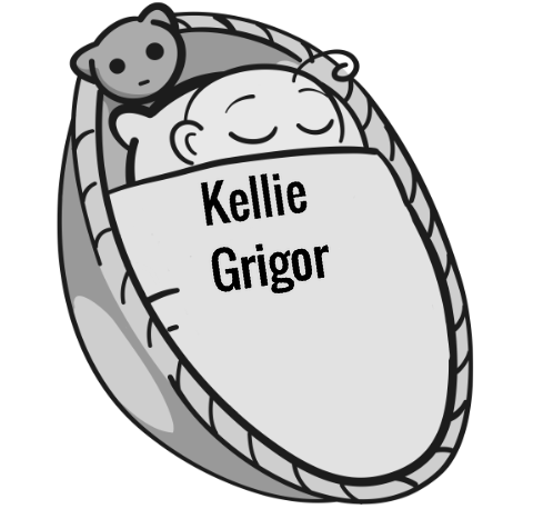 Kellie Grigor sleeping baby