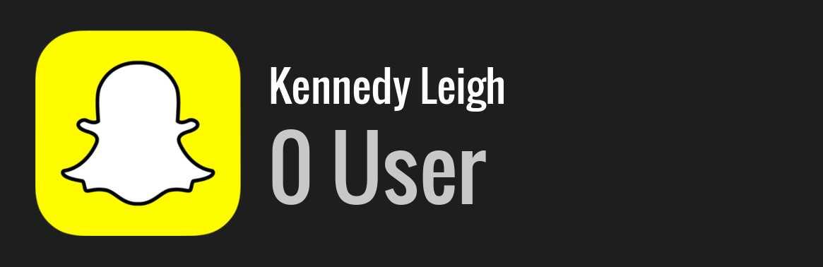 kennedy leigh snap