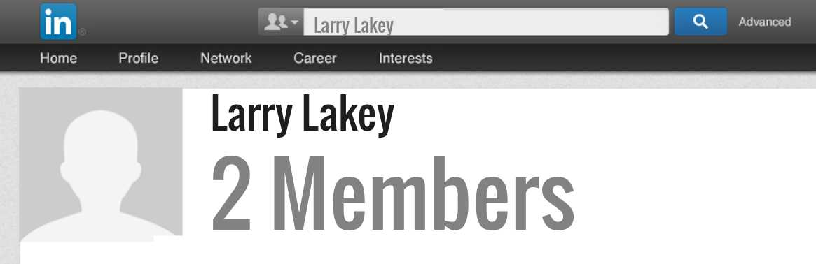 Larry Lakey linkedin profile
