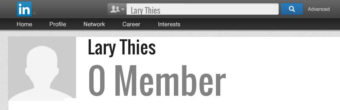 Lary Thies linkedin profile