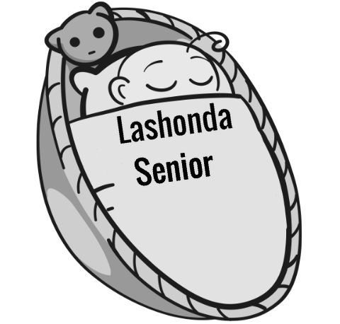 Lashonda Senior sleeping baby