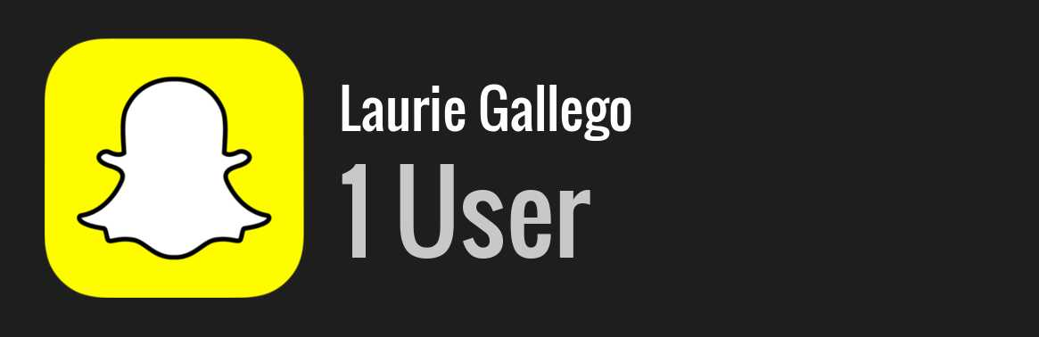 Laurie Gallego snapchat