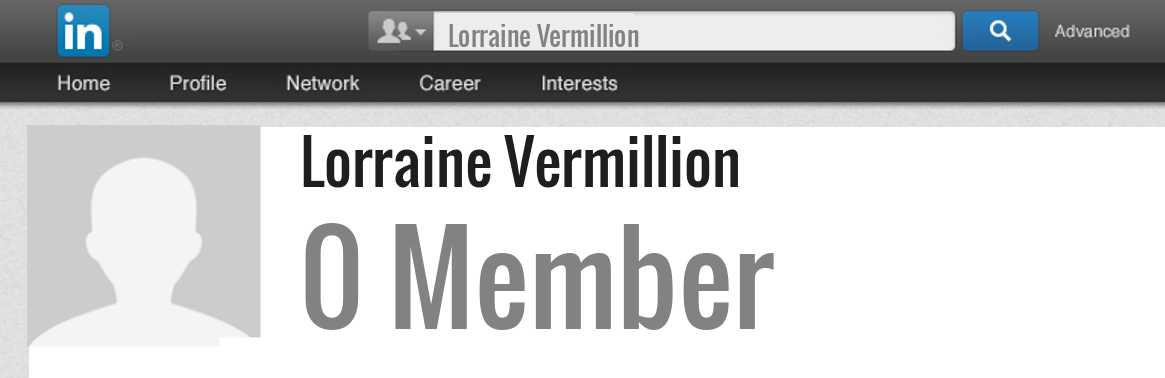 Lorraine Vermillion linkedin profile