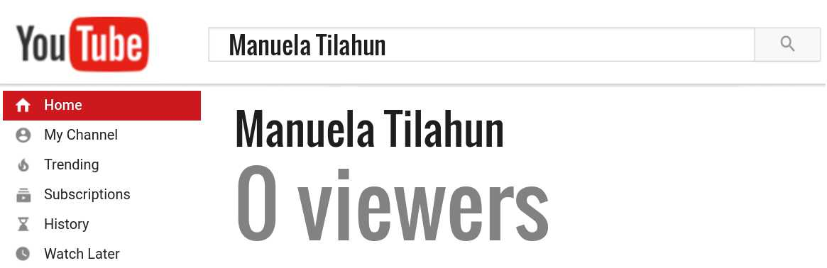 Manuela Tilahun youtube subscribers