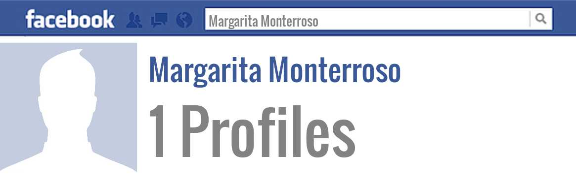 Margarita Monterroso facebook profiles