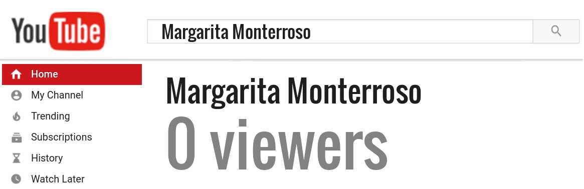 Margarita Monterroso youtube subscribers