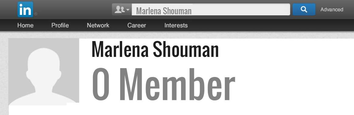 Marlena Shouman linkedin profile