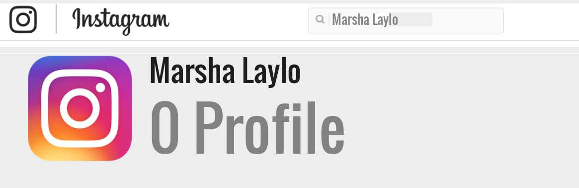 Marsha Laylo instagram account