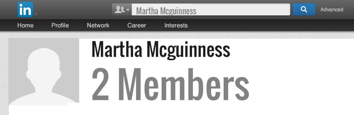 Martha Mcguinness linkedin profile