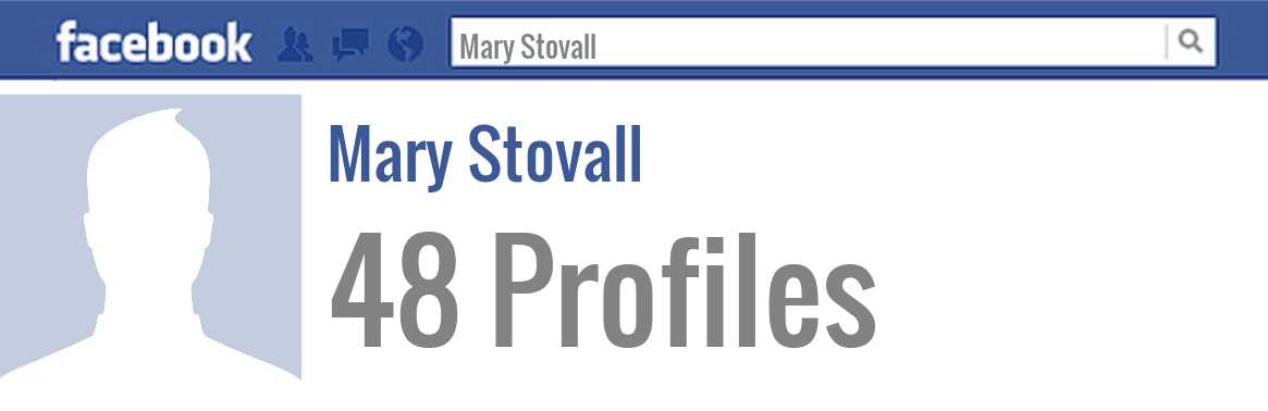Mary Stovall facebook profiles