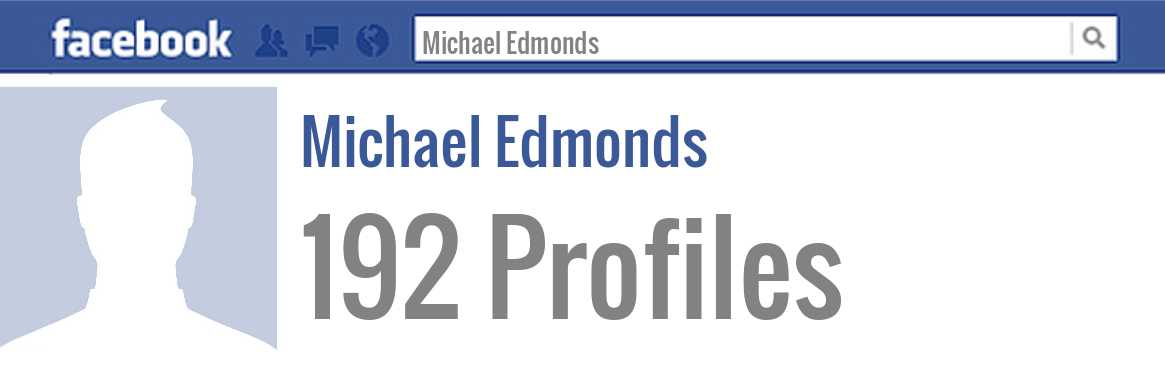 Michael Edmonds facebook profiles