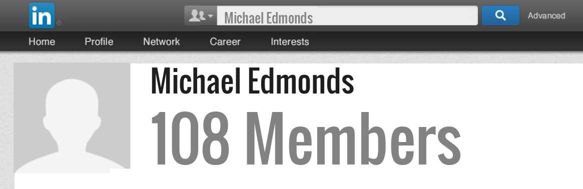 Michael Edmonds linkedin profile