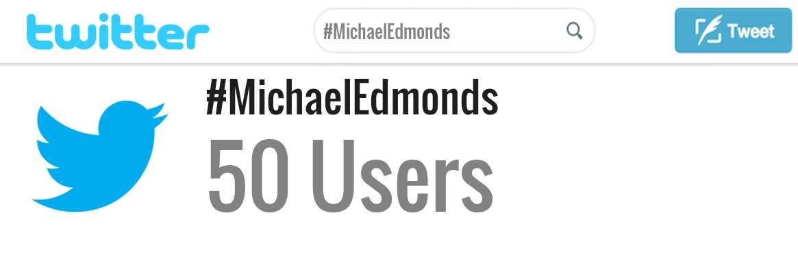 Michael Edmonds twitter account