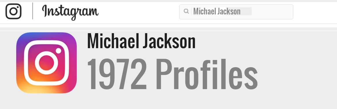 Michael Jackson instagram account