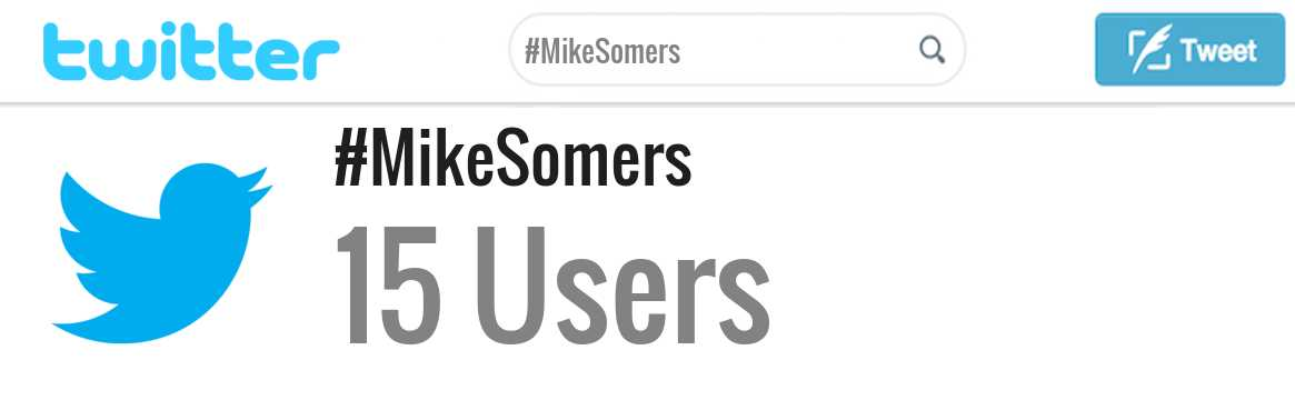 Mike Somers twitter account