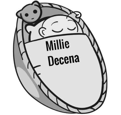 Millie Decena sleeping baby